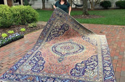 Large Persian Rug - Peacock #46